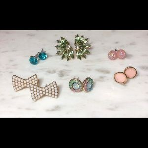 6 Pair Earring Bundle